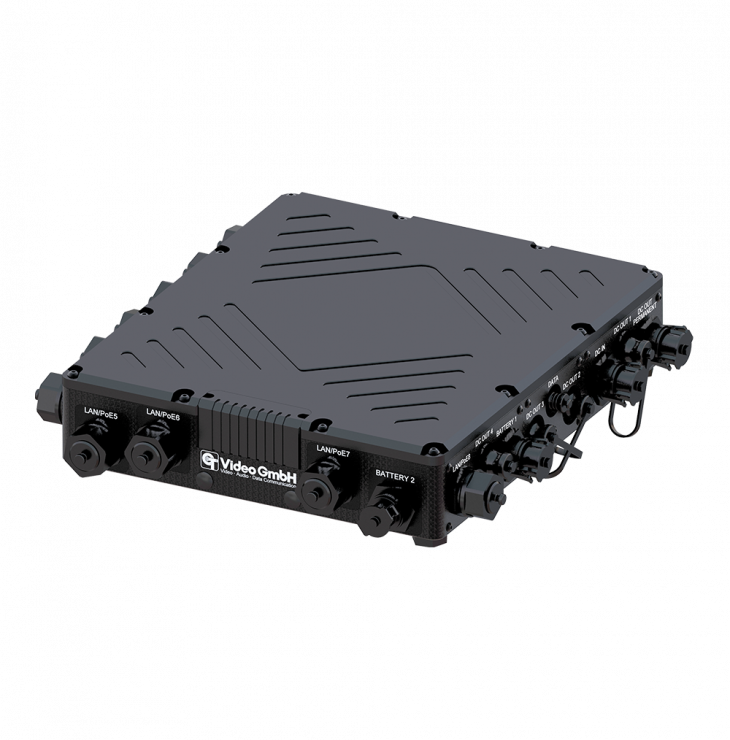 CT-Smart PoE Switch outdoor 4G/12V